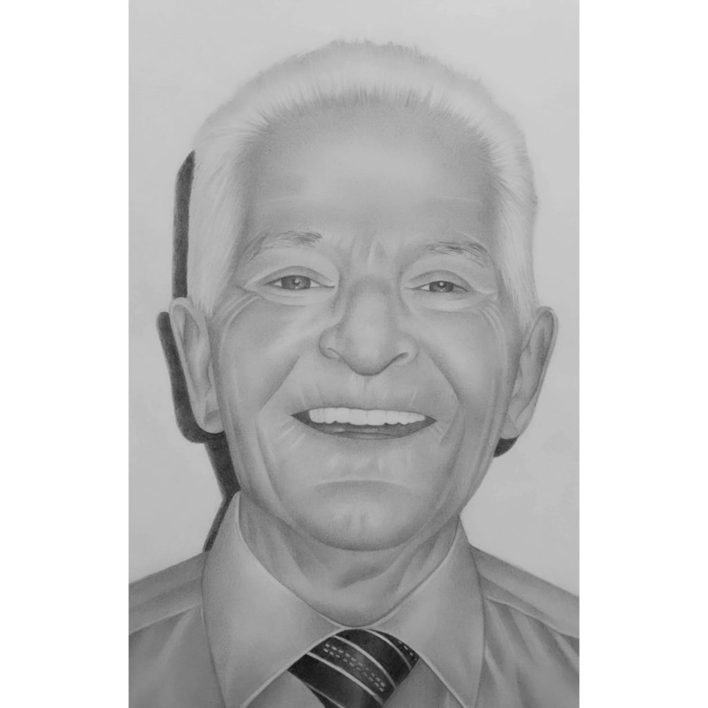 A portrait of my late grandfather